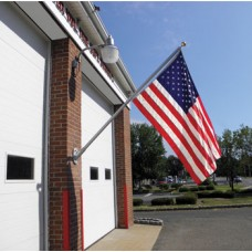 8' Wall Mount Aluminum Spinning Flagpole