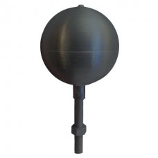 "3"" Black Aluminum Ball"
