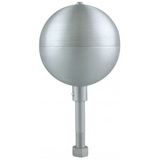 """3"""" Clear Anodized Aluminum Ball"""