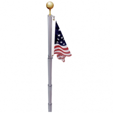 20' Aluminum Telescoping Flagpole