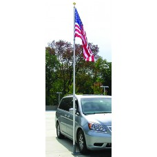 Multi-Use Telescoping Flagpole