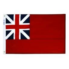 2x3' Nylon British Red Ensign Flag