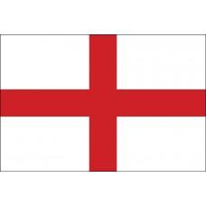 2x3' Nylon St George Cross Flag