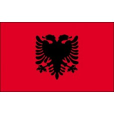 3x5' Lightweight Polyester Albania Flag