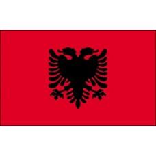 "4x6"" Hand Held Albania Flag"
