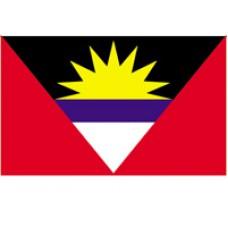 "4x6"" Hand Held Antigua & Barbuda Flag"