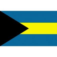 "4x6"" Hand Held Bahamas Flag"