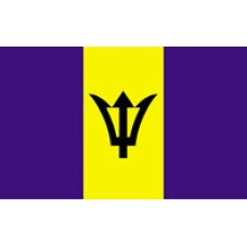 3x5' Nylon Barbados Flag