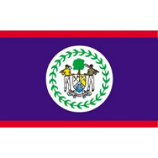 3x5' Nylon Belize Flag