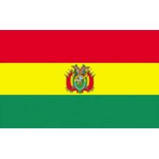 "4x6"" Hand Held Bolivia Flag"
