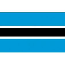 3x5' Lightweight Polyester Botswana Flag
