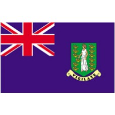 6x10' Nylon British Virgin Islands Flag