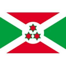 """4x6"""" Hand Held Burundi Flag"""
