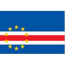 "4x6"" Hand Held Cape Verde Flag"