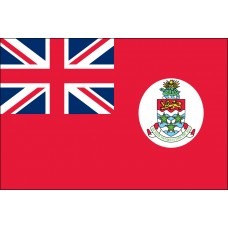 "4x6"" Hand Held Cayman Islands (Red) Flag"