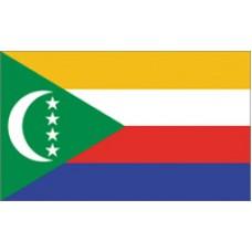 2x3' Nylon Comoros Flag