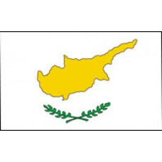 "4x6"" Hand Held Cyprus Flag"