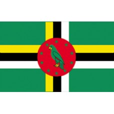 "4x6"" Hand Held Dominica Flag"