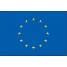 "4x6"" Hand Held European Union Flag"