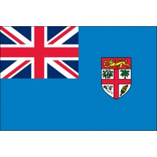 "4x6"" Hand Held Fiji Flag"