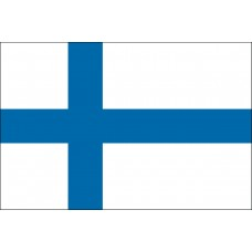 "4x6"" Hand Held Finland Flag"