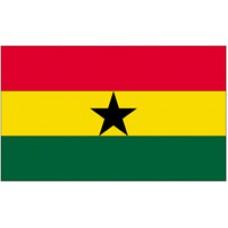 "4x6"" Hand Held Ghana Flag"