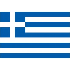 "8x12"" Hand Held Greece Flag"