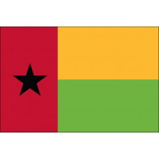 4x6' Nylon Guinea-Bissau Flag