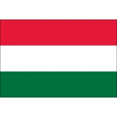 "4x6"" Hand Held Hungary Flag"