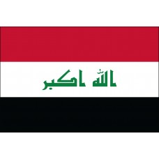 "4x6"" Hand Held Iraq Flag"