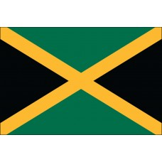 "4x6"" Hand Held Jamaica Flag"