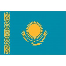 "4x6"" Hand Held Kazakhstan Flag"