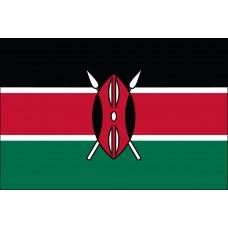 2x3' Nylon Kenya Flag