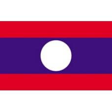 "4x6"" Hand Held Laos Flag"