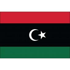 "4x6"" Hand Held Liberia Flag"
