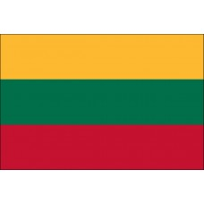 "4x6"" Hand Held Lithuania Flag"