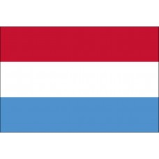 """4x6"""" Hand Held Luxembourg Flag"""