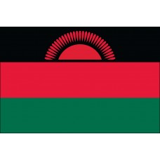 "4x6"" Hand Held Malawi Flag"