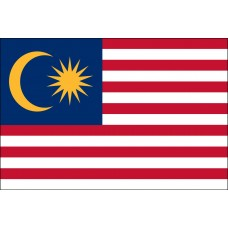 "4x6"" Hand Held Malaysia Flag"