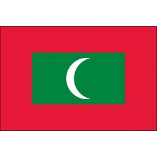 3x5' Nylon Maldives Flag