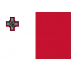 "4x6"" Hand Held Malta Flag"