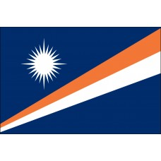 "4x6"" Hand Held Marshall Islands Flag"