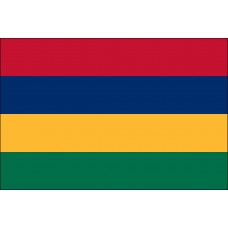 3x5' Lightweight Polyester Mauritius Flag