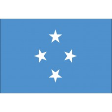 "4x6"" Hand Held Micronesia Flag"
