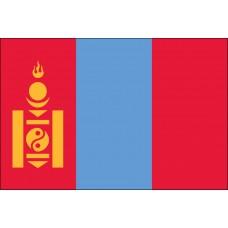 "4x6"" Hand Held Mongolia Flag"