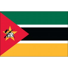 "4x6"" Hand Held Mozambique Flag"