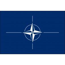 "4x6"" Hand Held NATO Flag"
