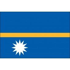 "4x6"" Hand Held Nauru Flag"