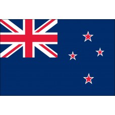 "4x6"" Hand Held New Zealand Flag"