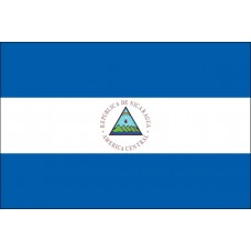 "8x12"" Hand Held Nicaragua Flag"